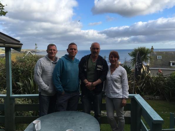 Tony, Jeremy, Mark & Sheila